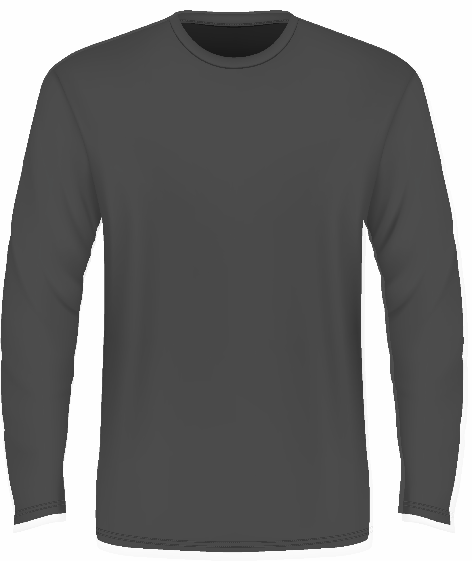 Long Sleeve T Shirt Template Png
